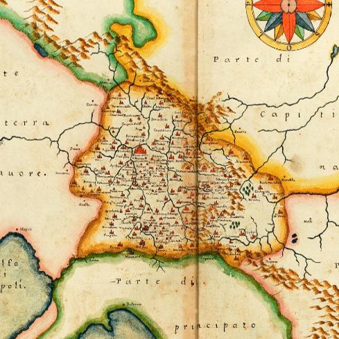 Toponomastica del Sannio in una cartografia del '600